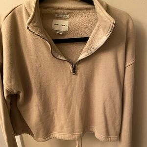 American Eagle cropped pullover